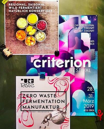 Criterion Festival 2019, Zürich – Fermentieren , Workshops mit pureTaste
