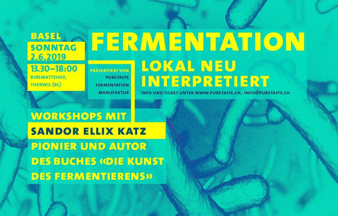 Sandor Katz – Tempeh mit Kartoffeln, Warum aus Gemüseresten – Fermentations-Workshop in Basel, Schweiz