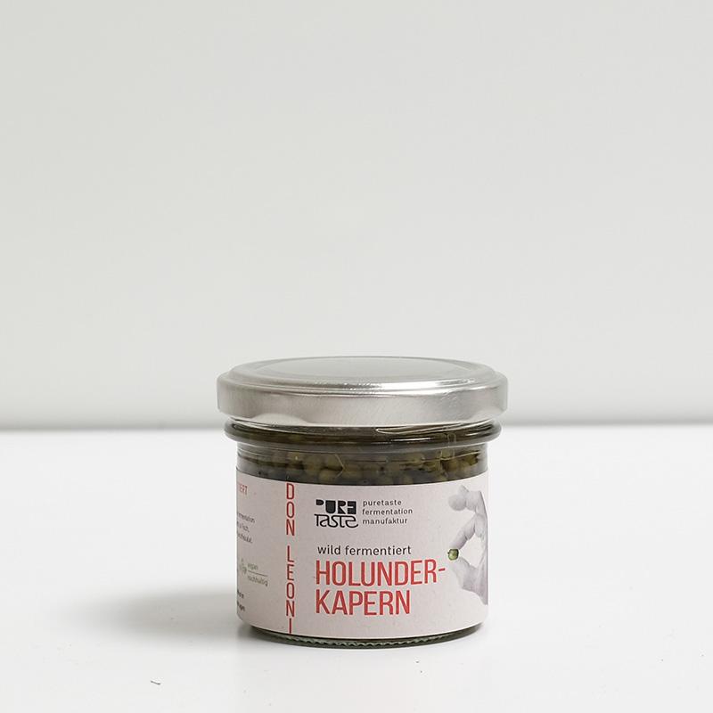 fermentierte Holunderkapern – lokale Alternativen