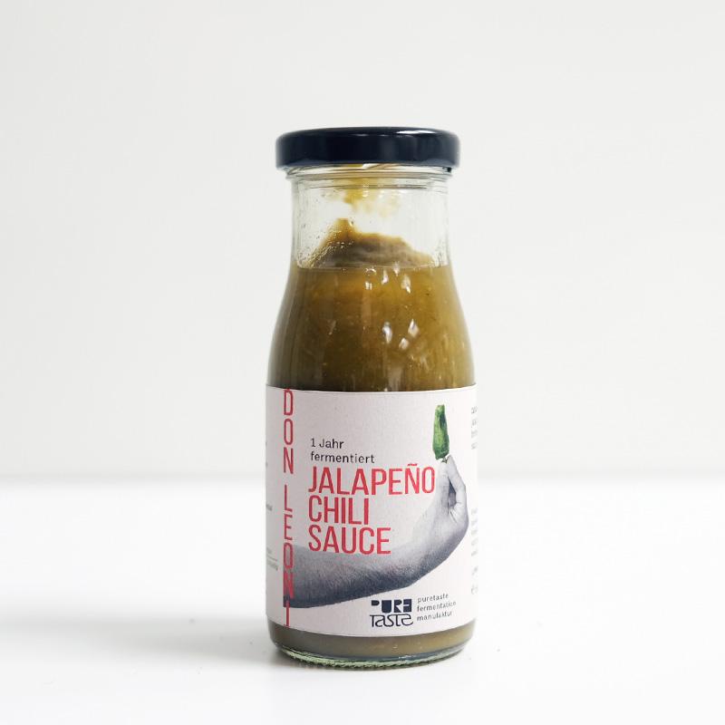 Jalapeno, Chilisauce roh – 1 Jahr fermentiert aus der Schweiz