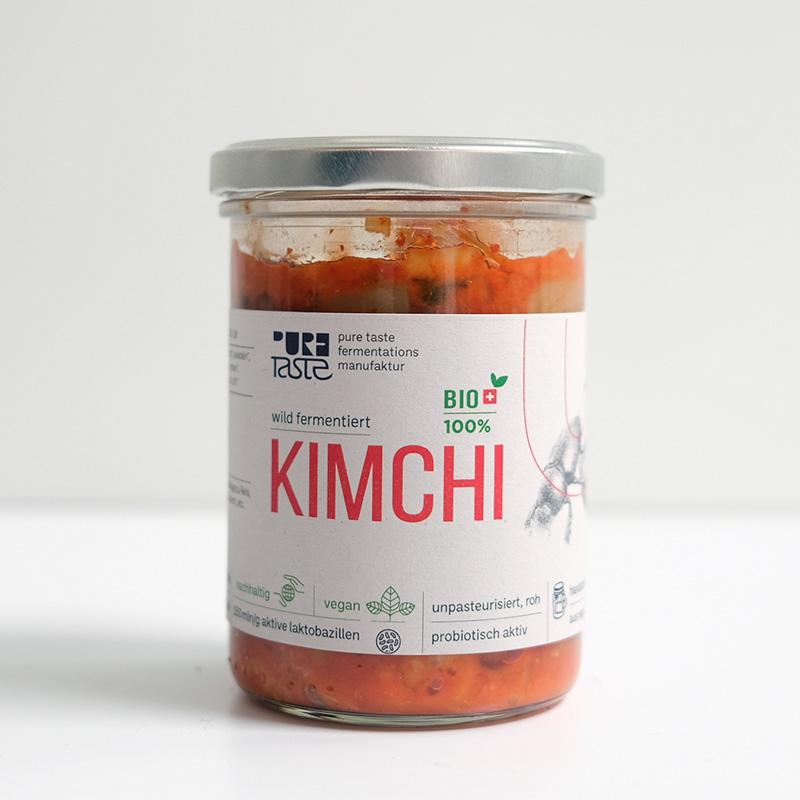 Bio Kimchi kaufen, Fermentiert in Basel. Schweiz – jetzt bei pureTaste zu kaufen