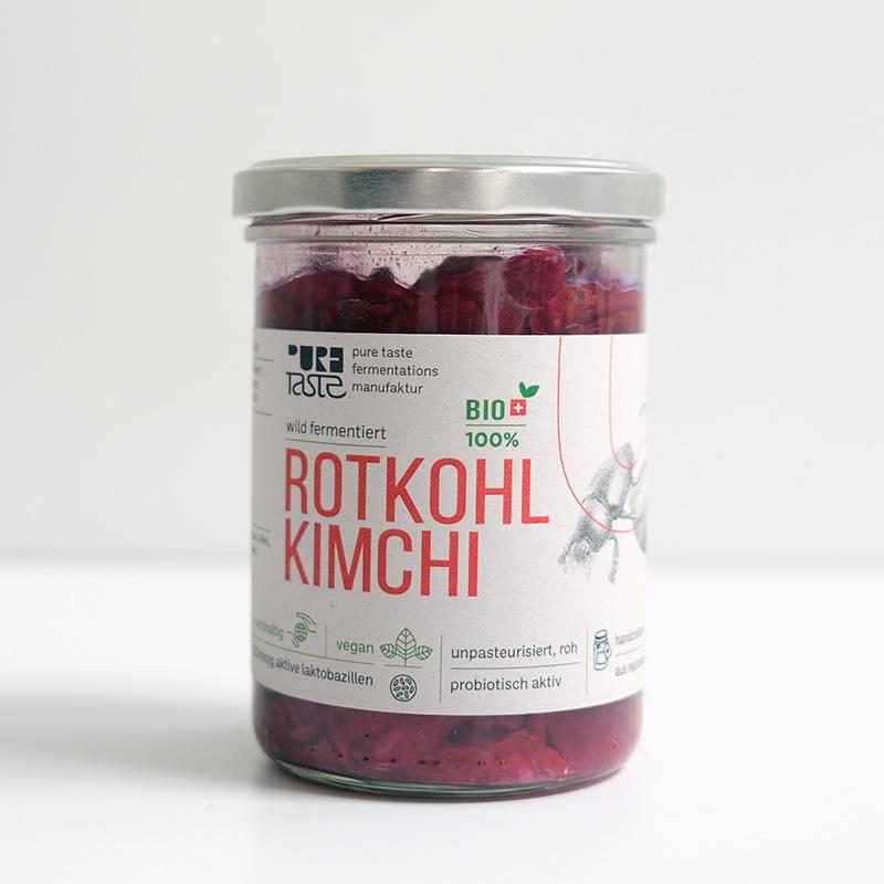 Rotkohl-Kimchi, Bio, probiotisch – lokal handcrafted, Schweiz