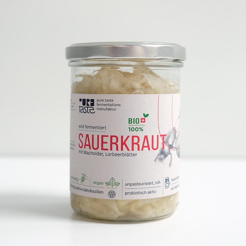 Sauerkraut aus der Region, roh und unpasteurisiert