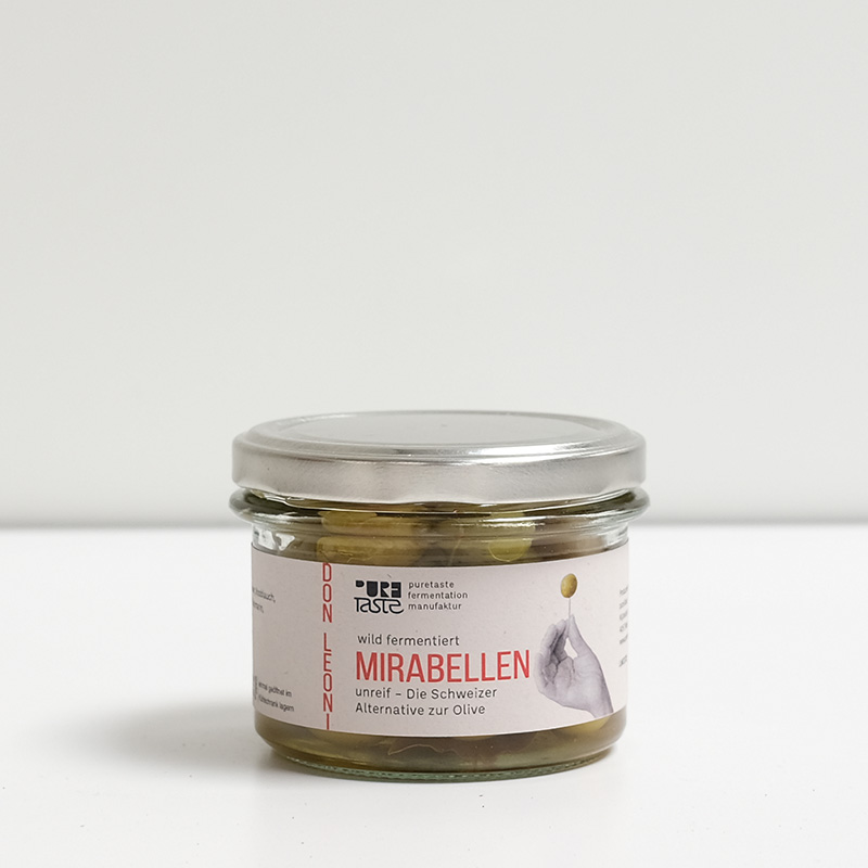 Mirabellen unreif fermentiert – Die Olive aus dem Norden
