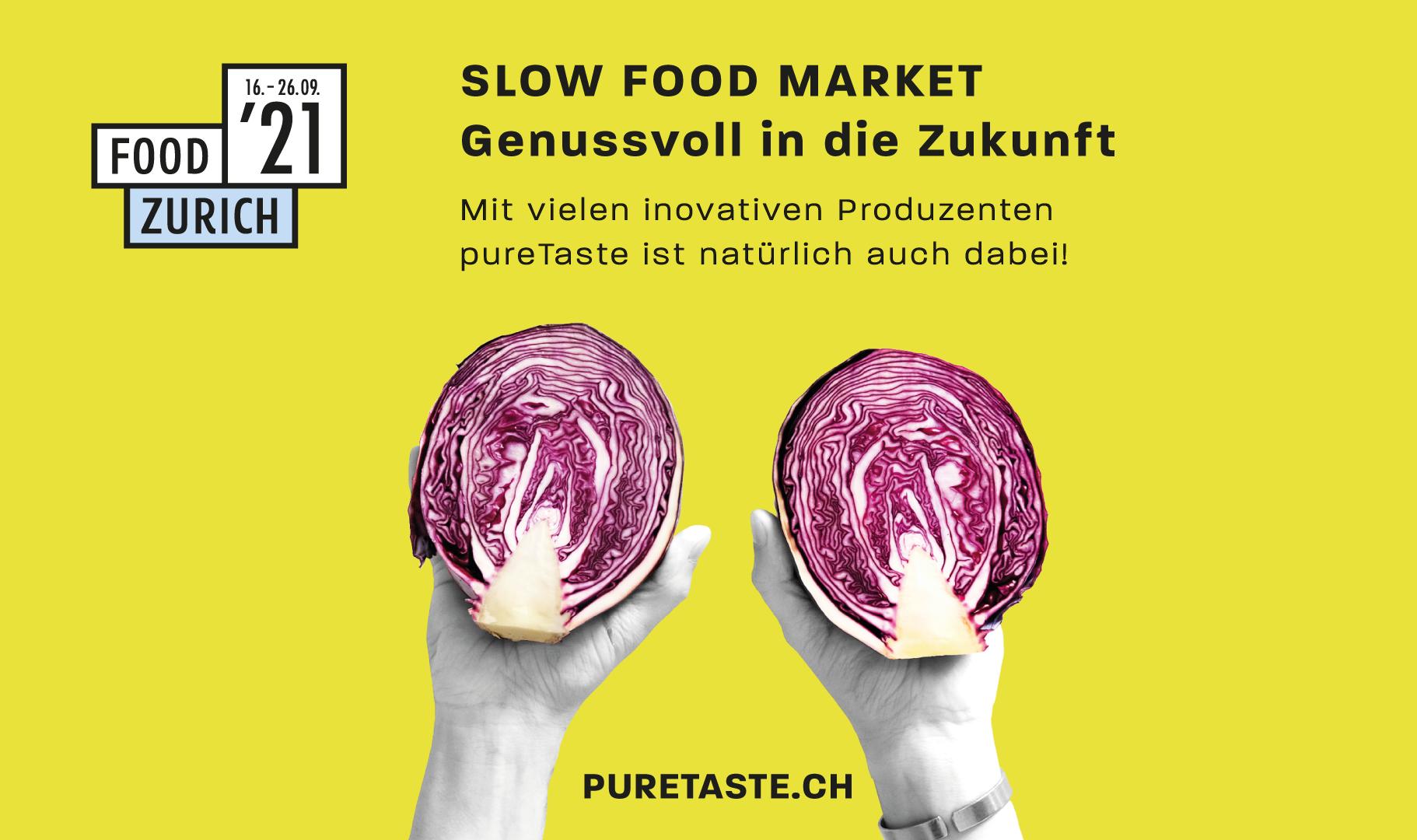 Food Zurich 21 – Slow Food Market